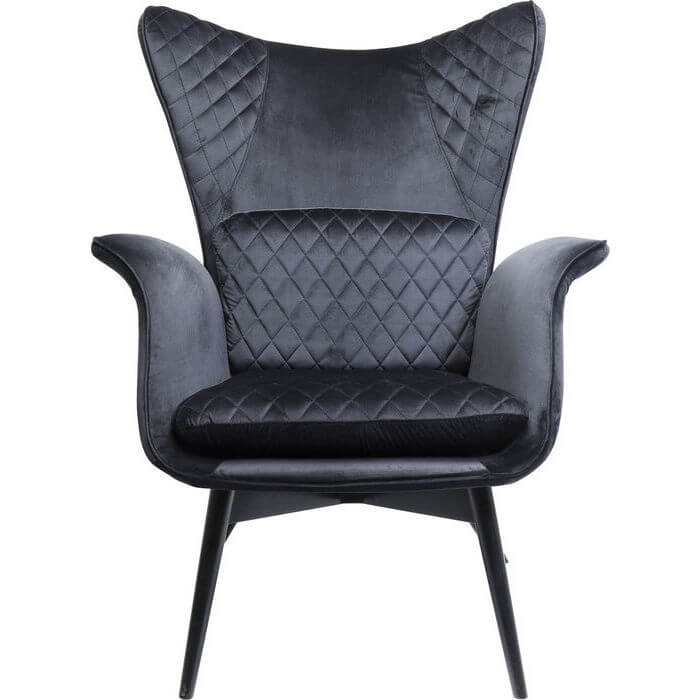 piana-spisebordsstol-groen-stof-udstillingsmodel